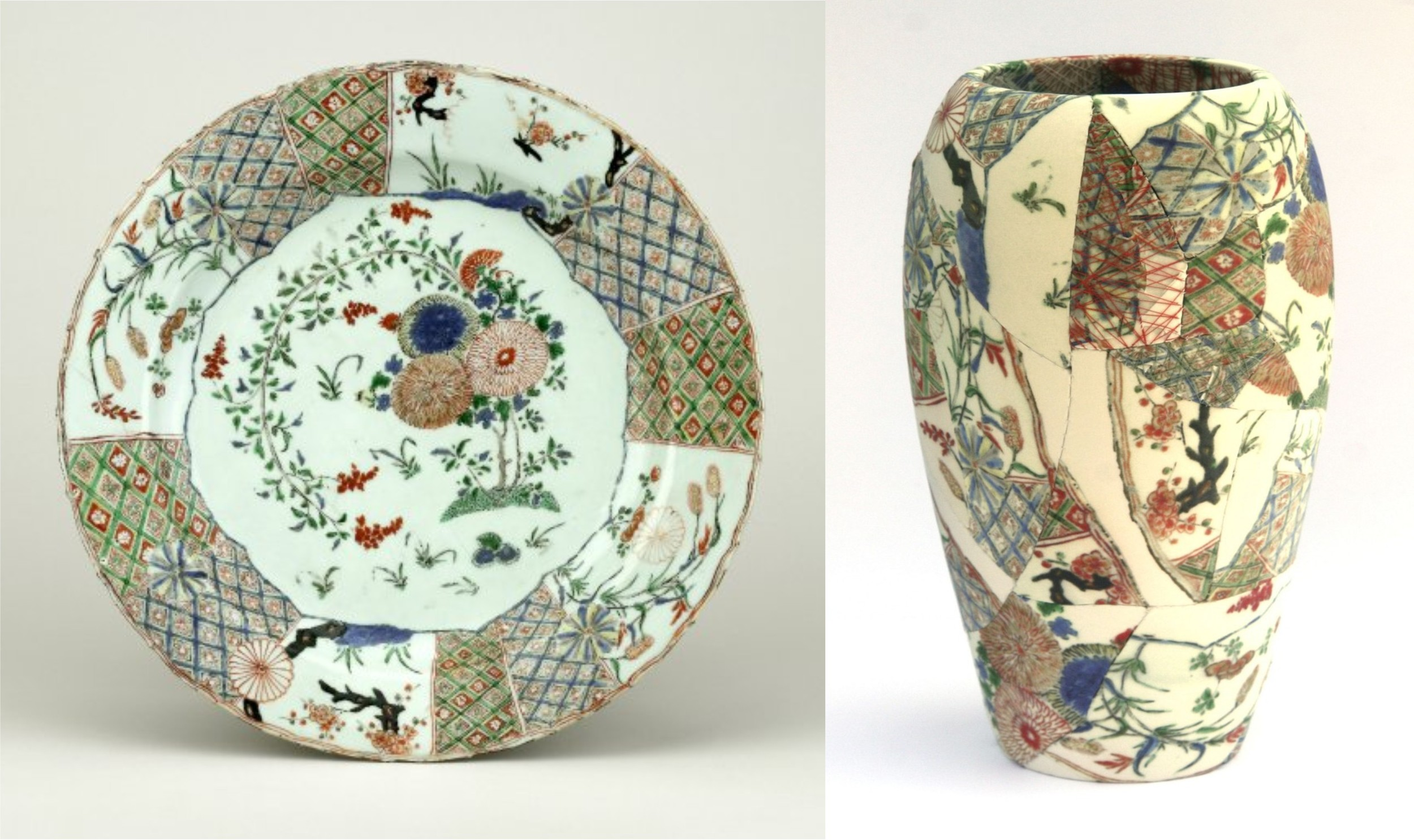 Colour Oriental plate + pot.jpg