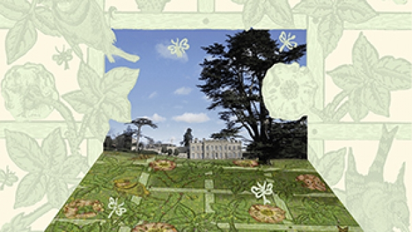 Dan Pearson, design for William Morris inspired parterre at Compton Verney