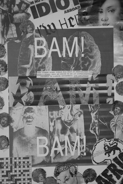 Front cover of BAM! BAM!, fanzine created by artist Barby Asante with members of Tate Collective, 2011.