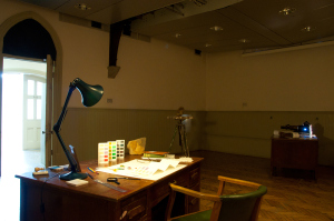 Stuart Mugridge, Installation shot of  Private Room , MA show, 2014