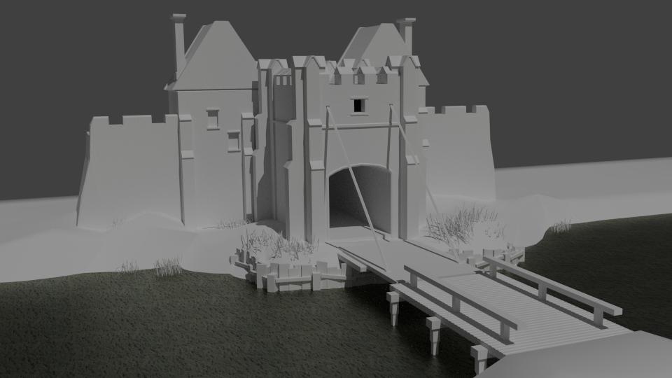 Hannah Rice,  Beverley Gate (Hull) , 3D work in progress, 2017