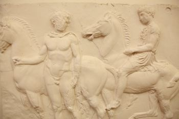 Panel V of the West Parthenon Frieze (detail)