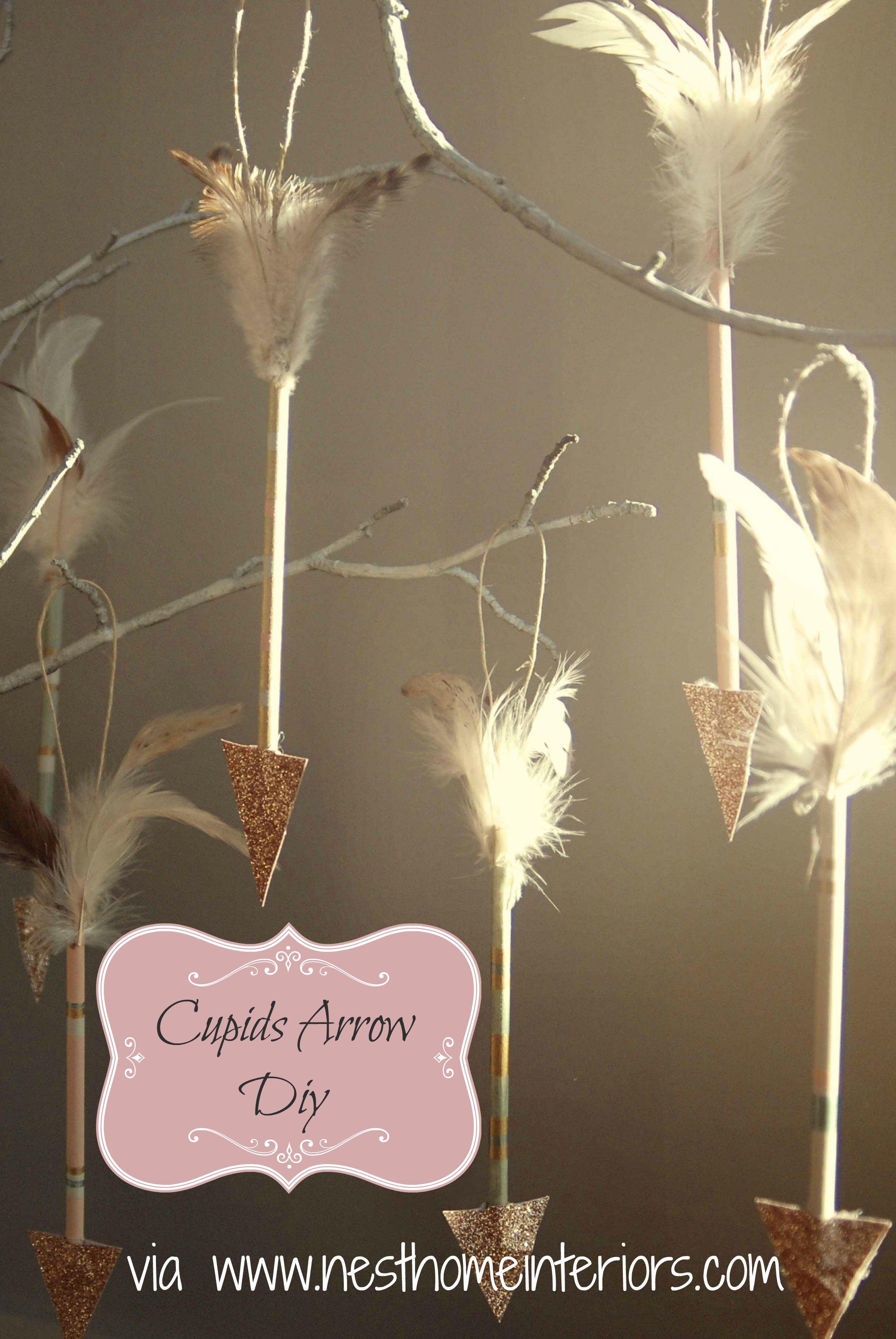 hanging cupids arrows