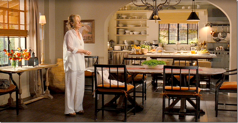 Dining room and kitchen from It's Complicated
