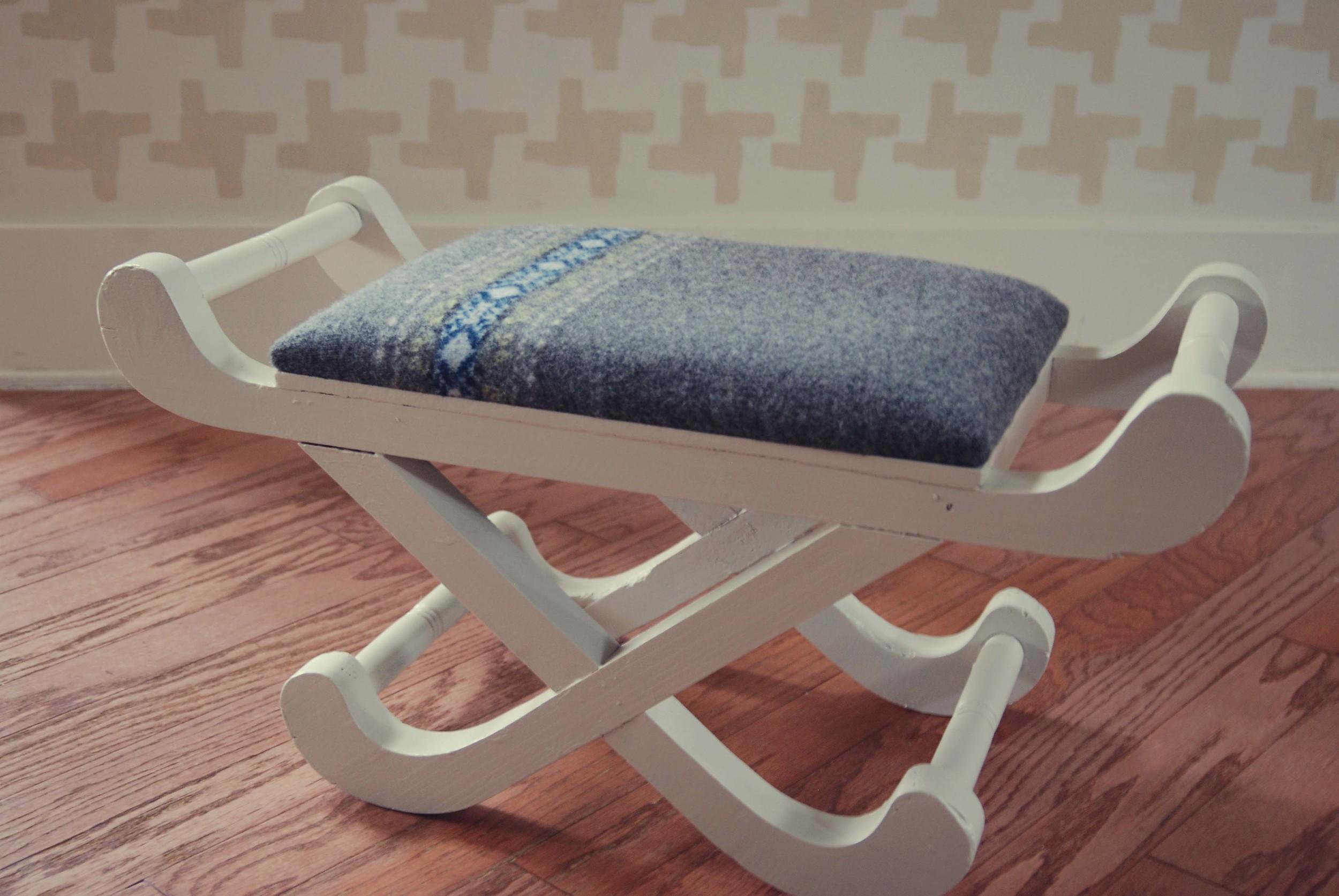 sweater stool via nest