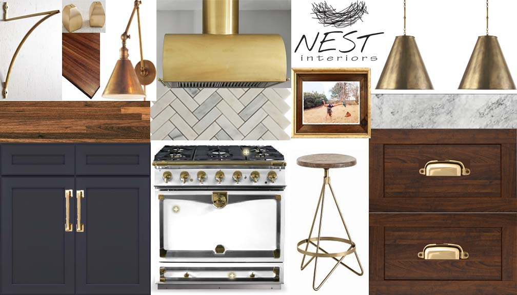 Contemporary Classic Kitchen eDesign via nest