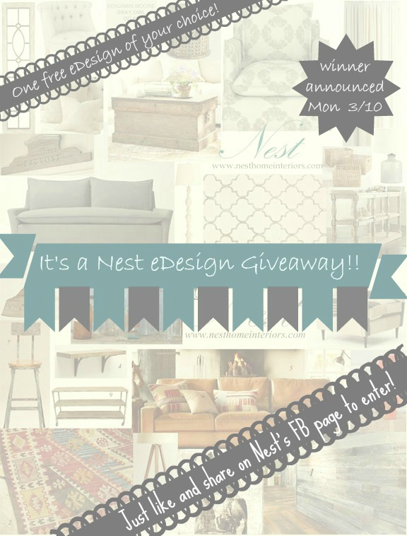 eDesign giveaway