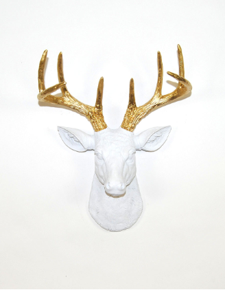 If it is your style though, click the pic.  White Faux Taxidermy has some fun stuff!