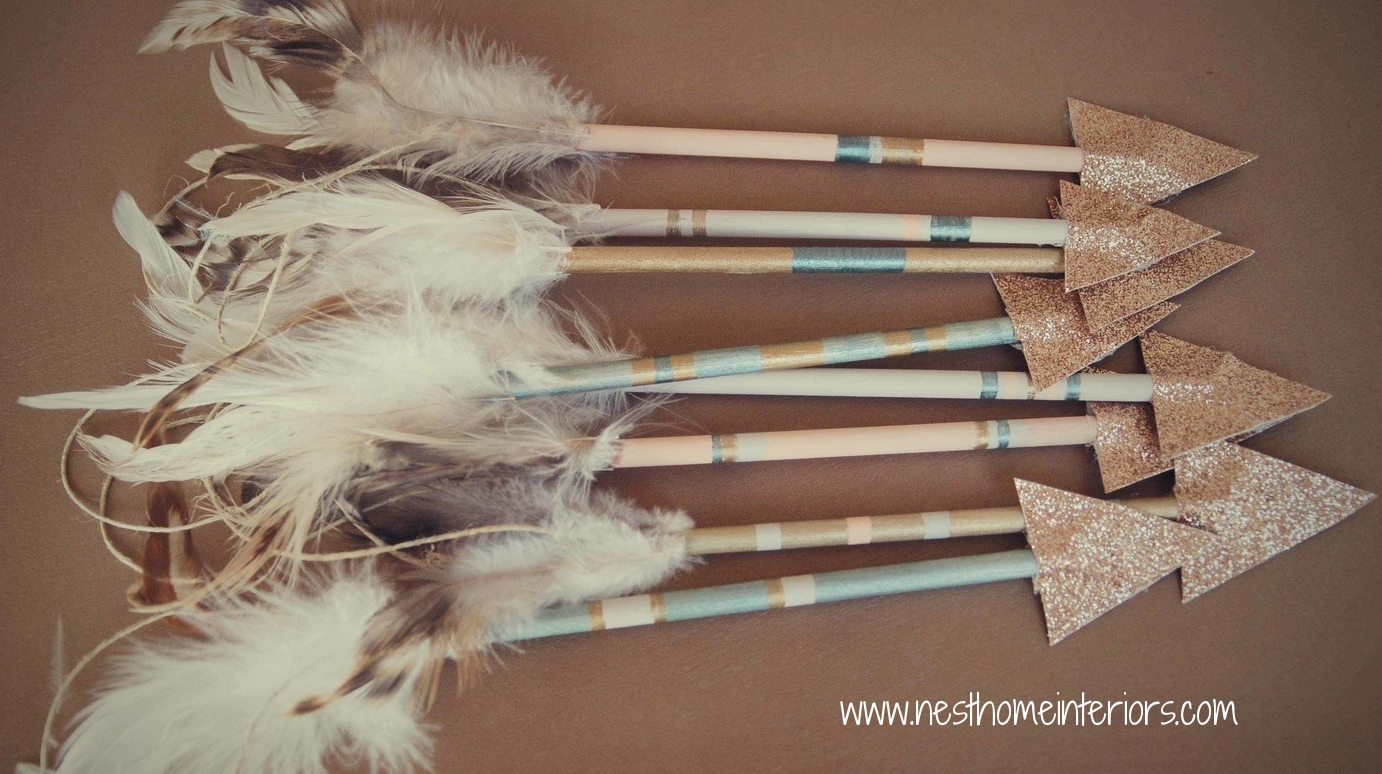 Hunger Games inspired arrows