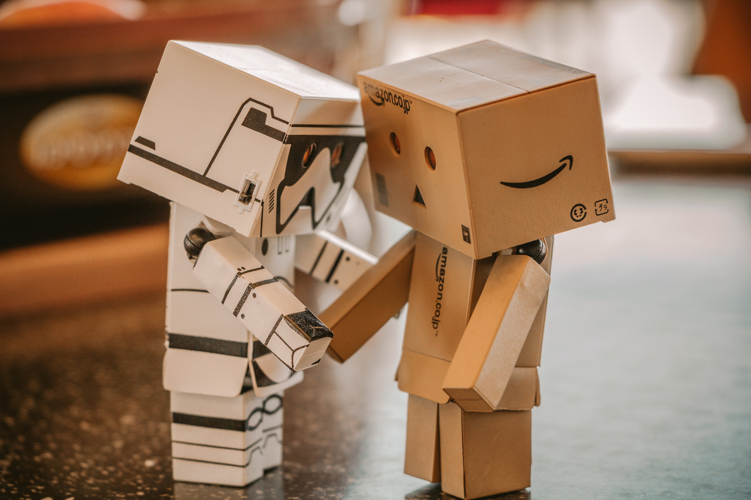 Photo by Matan Segev from Pexels https://www.pexels.com/photo/photo-of-white-and-brown-cardboard-box-toy-figure-678308/