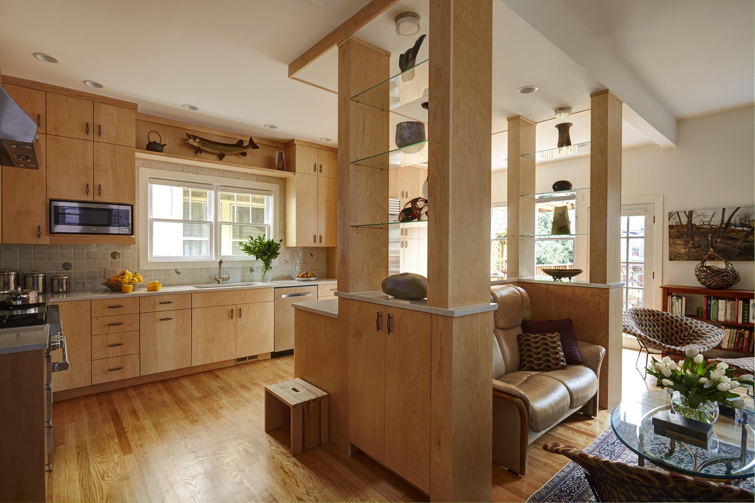 Modern, Nature-Inspired Kitchen, Chicago