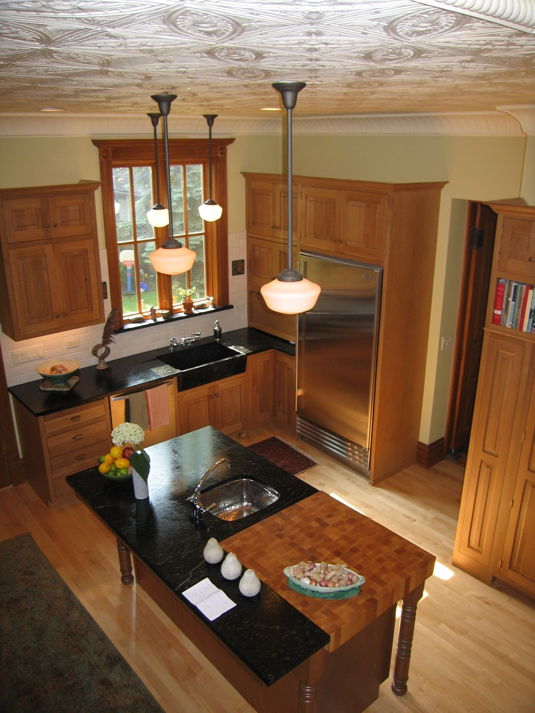 """Victorian Kitchen Renovation Featured in """"This Old House"""" and """"Kitchens and Baths,"""" Oak Park"""