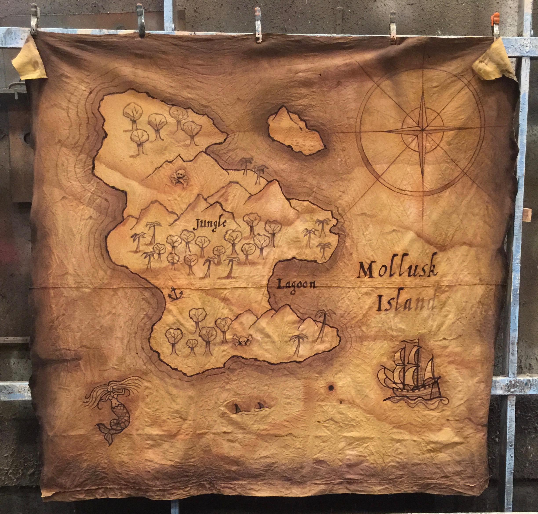Mollusk Island Map