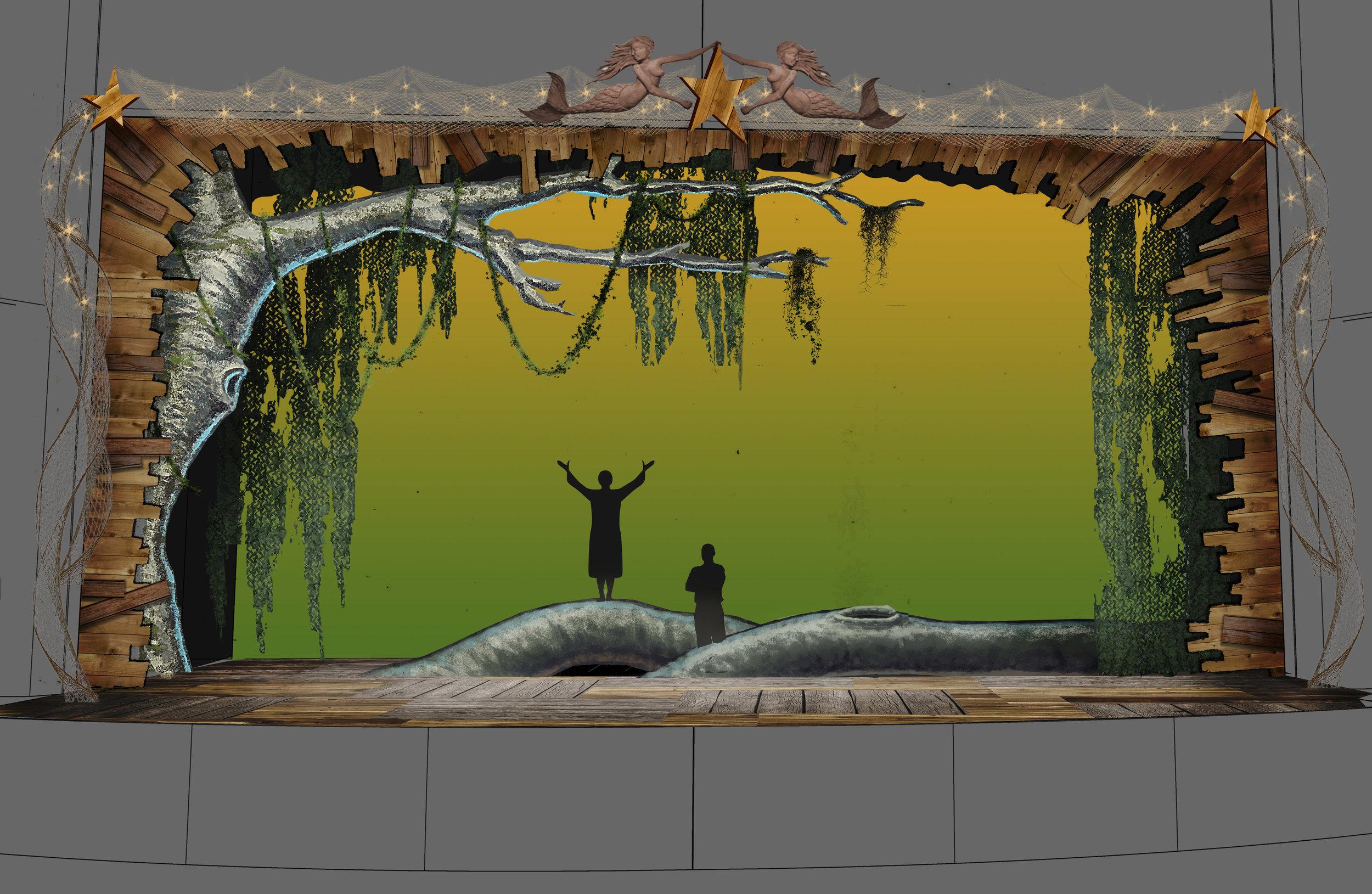 Act 2 color concept sketch