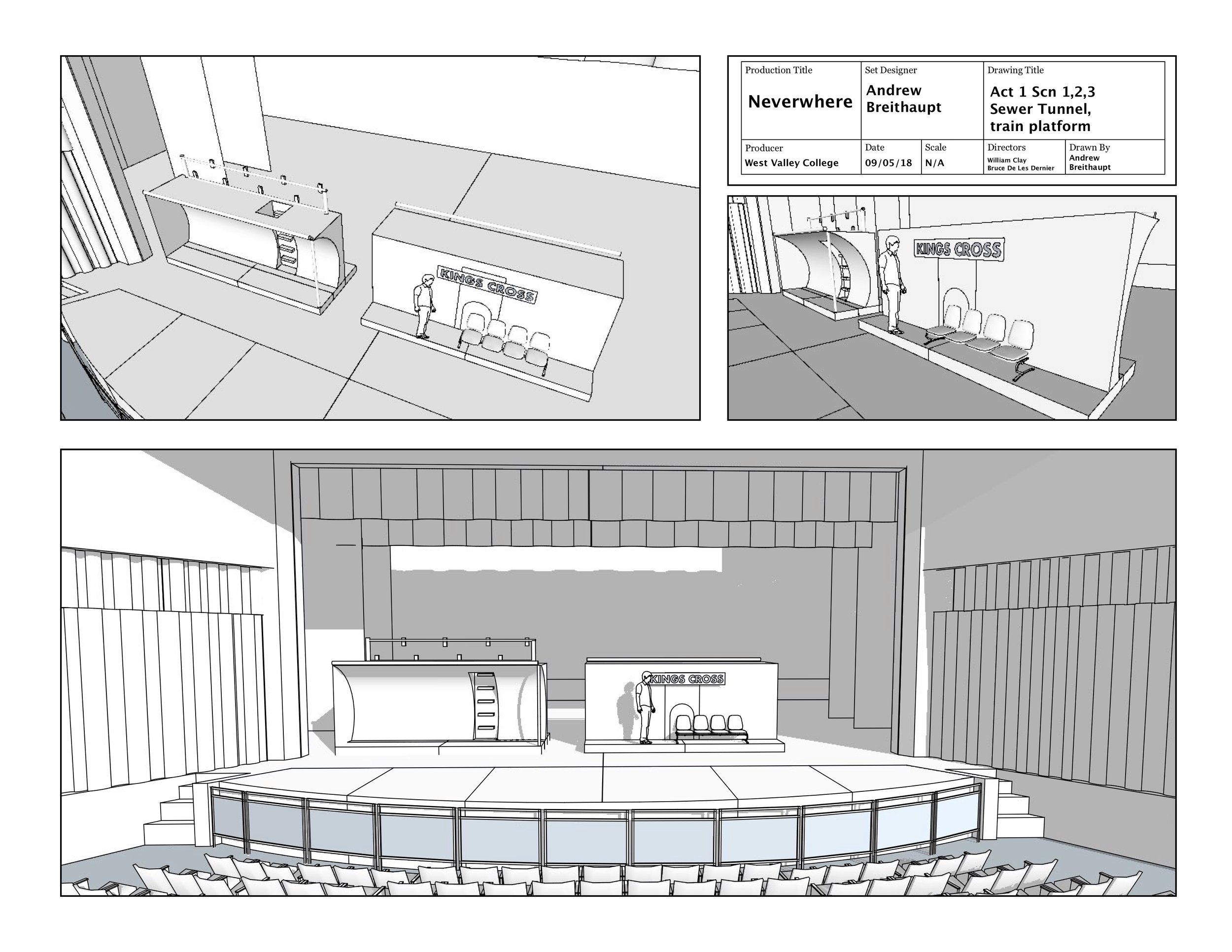 Neverwhere Act 1 Scn1 concept layout