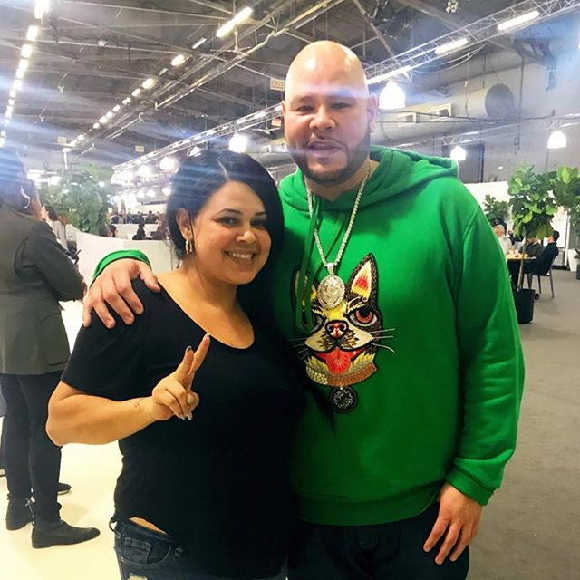 Are you coming to see us @capsuleshow + @libertyfairs ? @fatjoe knows what's up so he already rolled through and had our tuna melt for lunch! ❤️ @emily_78 is running the show and killing it as always! #shecandoitall #capsuleshow #thatnewnow #soexcited #allweknowishowtokeepitsuperclear #lunchcatering #popup