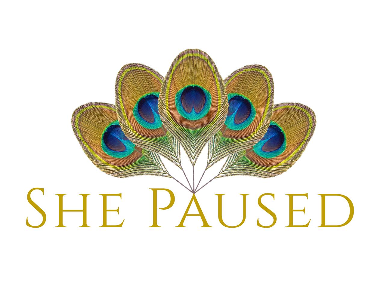 she paused logo for graphic design portfolio smaller.jpg