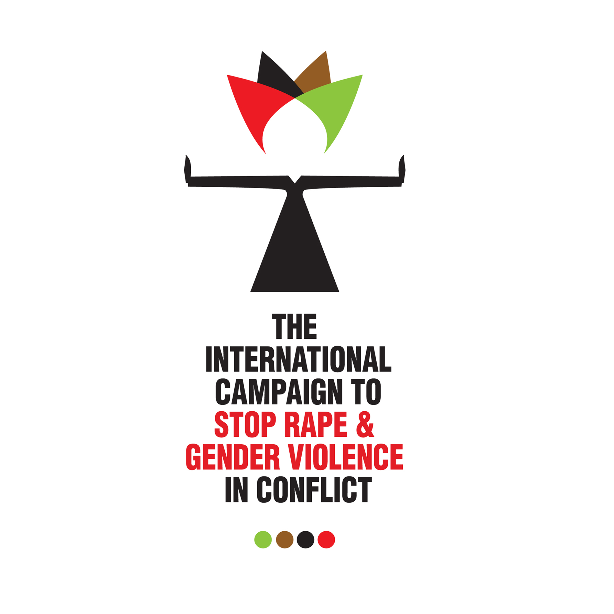 Logo for The International Campaign to stop Rape & Gender Violence in Conflict - Ottawa, Canada