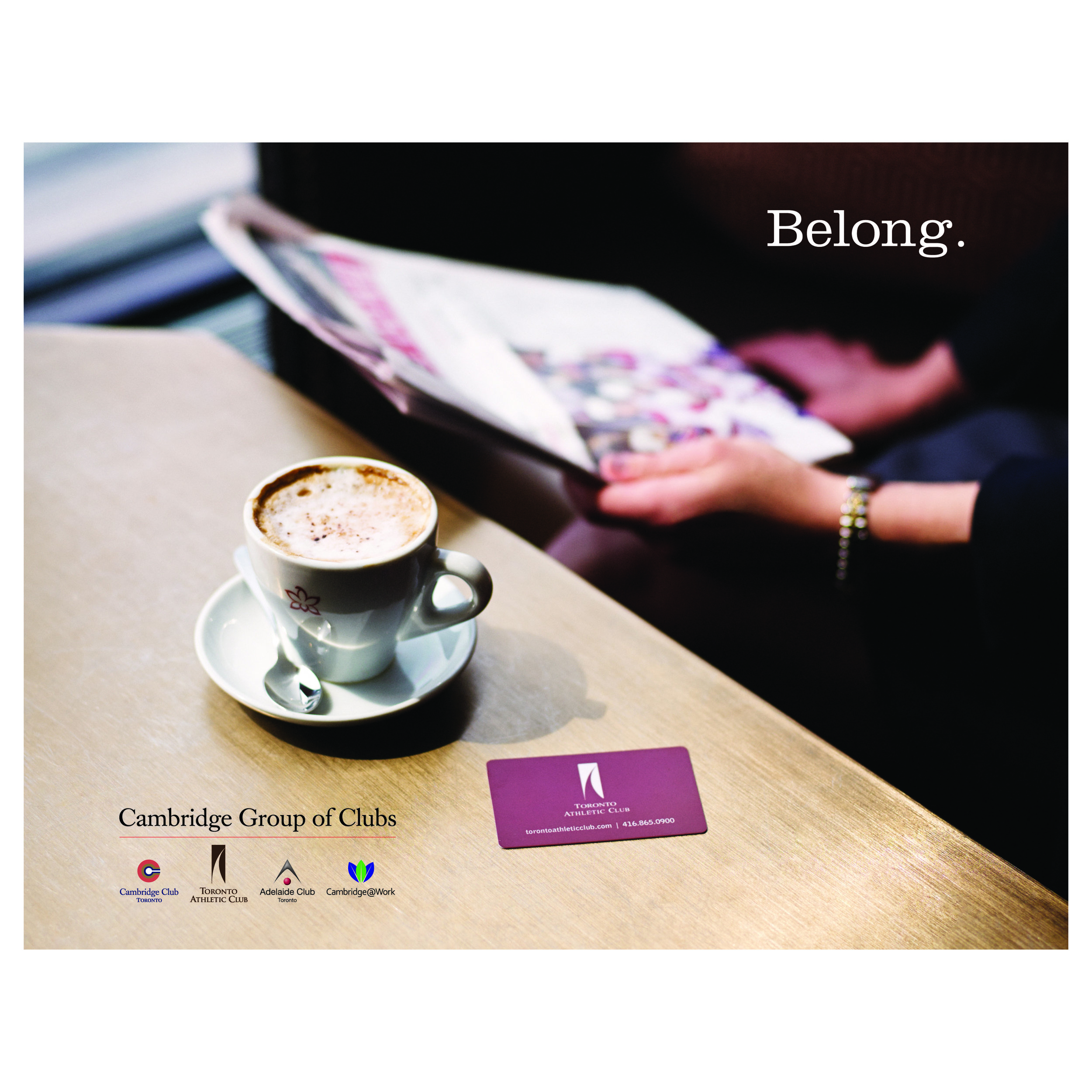Cambridge Group of Clubs, Toronto - 'Belong' Promotional Brochure