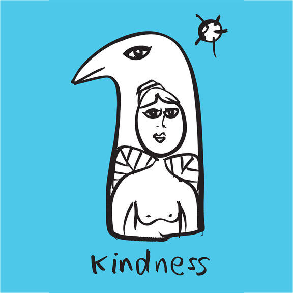 'Kindness' from 'Totems from the New Earth' series, October 2016 by Shauna Rae
