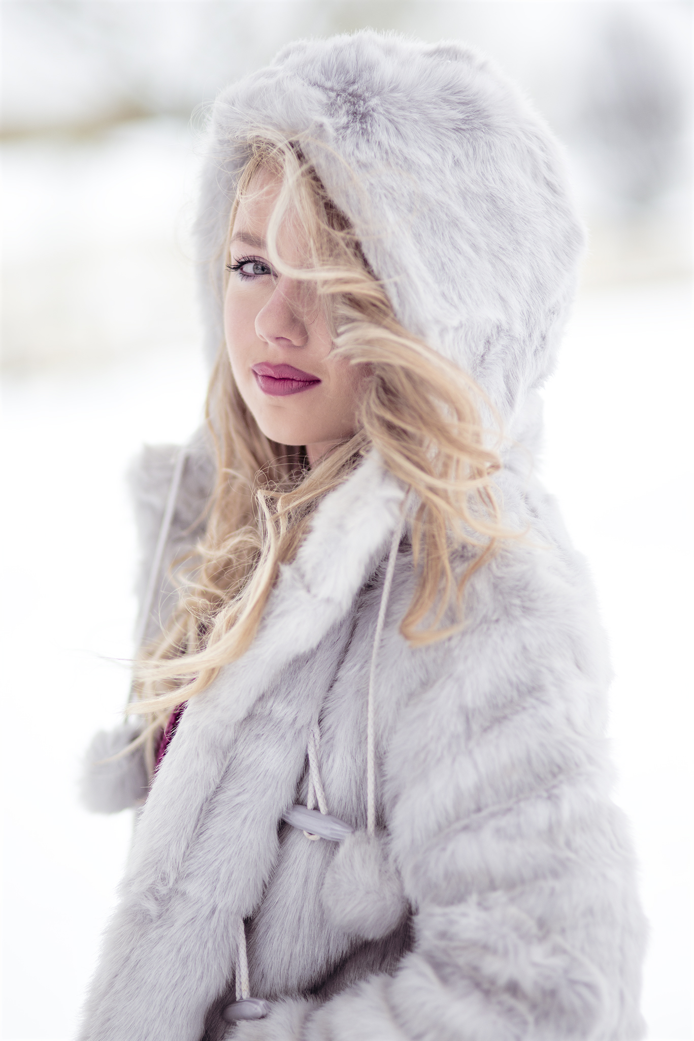 snow model ireland dublin beautiful