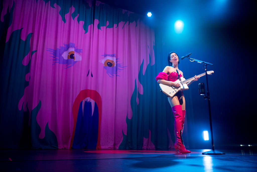 St. Vincent live at The Olympia Theatre, Dublin 2017