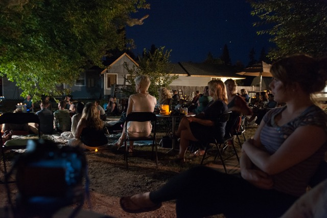 Moon Picnic, August 20, 2016. Lake Country Art Gallery, Lake Country, Canada. June 22 - September 16, 2016. Photo courtesy of Tina Knooihuizen.
