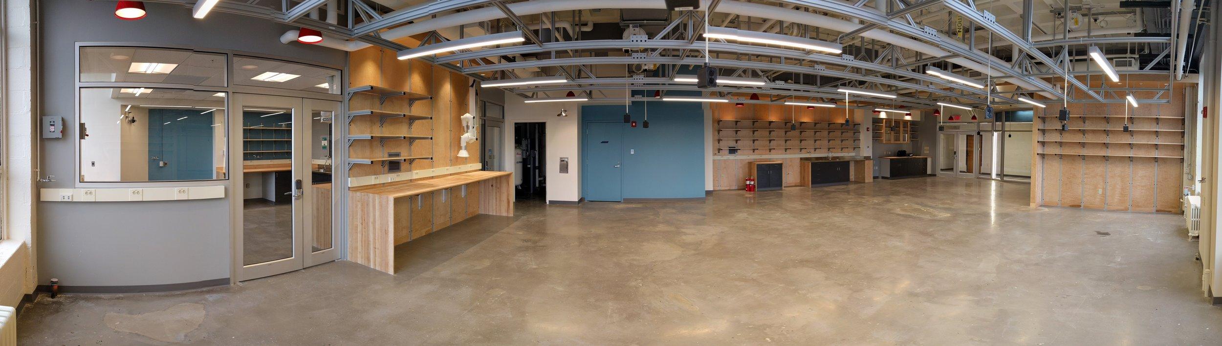 Panoramic of Main Lab