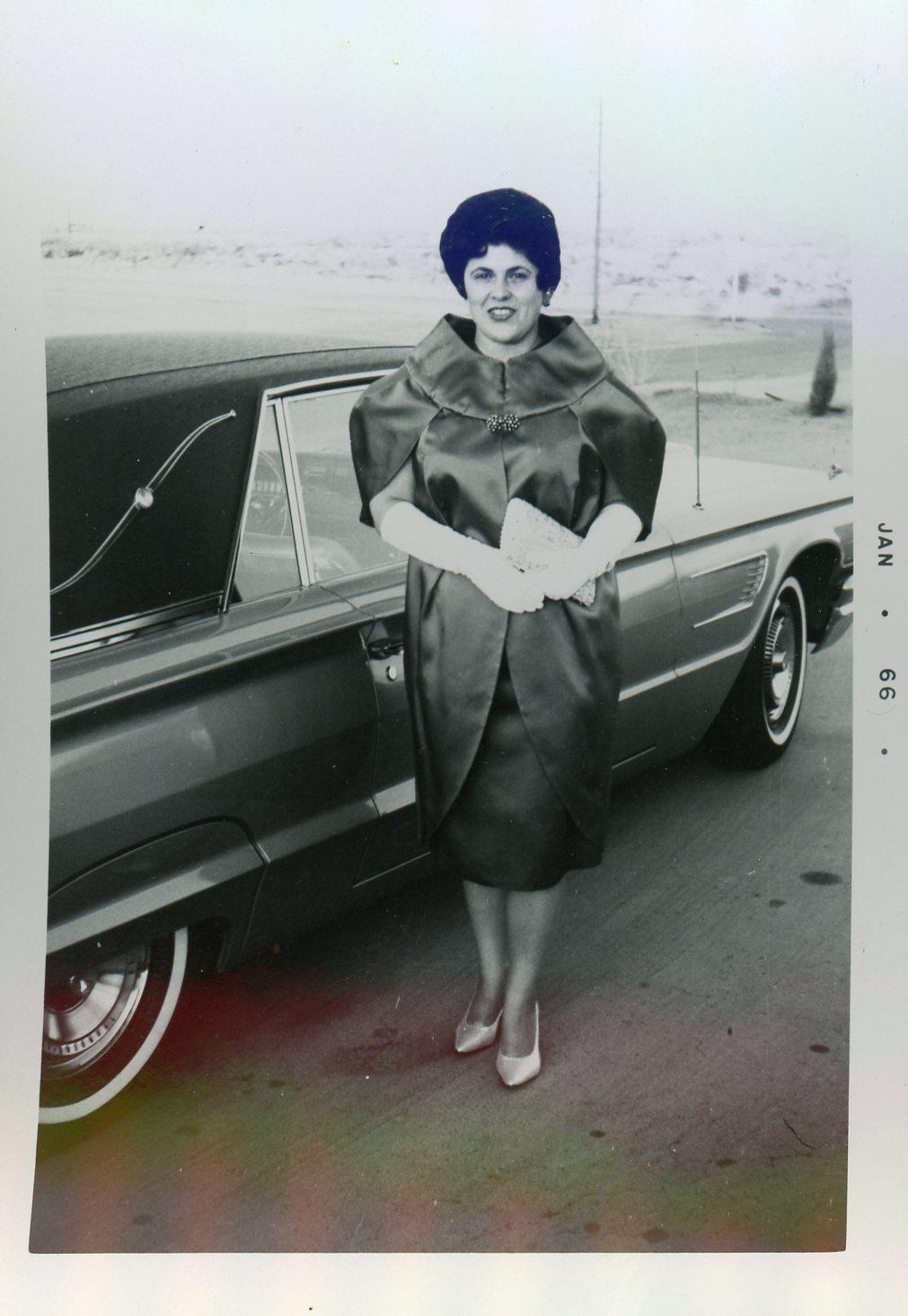 Grandma Finney, January 1966