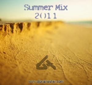 DJ Brian Asher - Summer Mix 2011 Cover.jpg