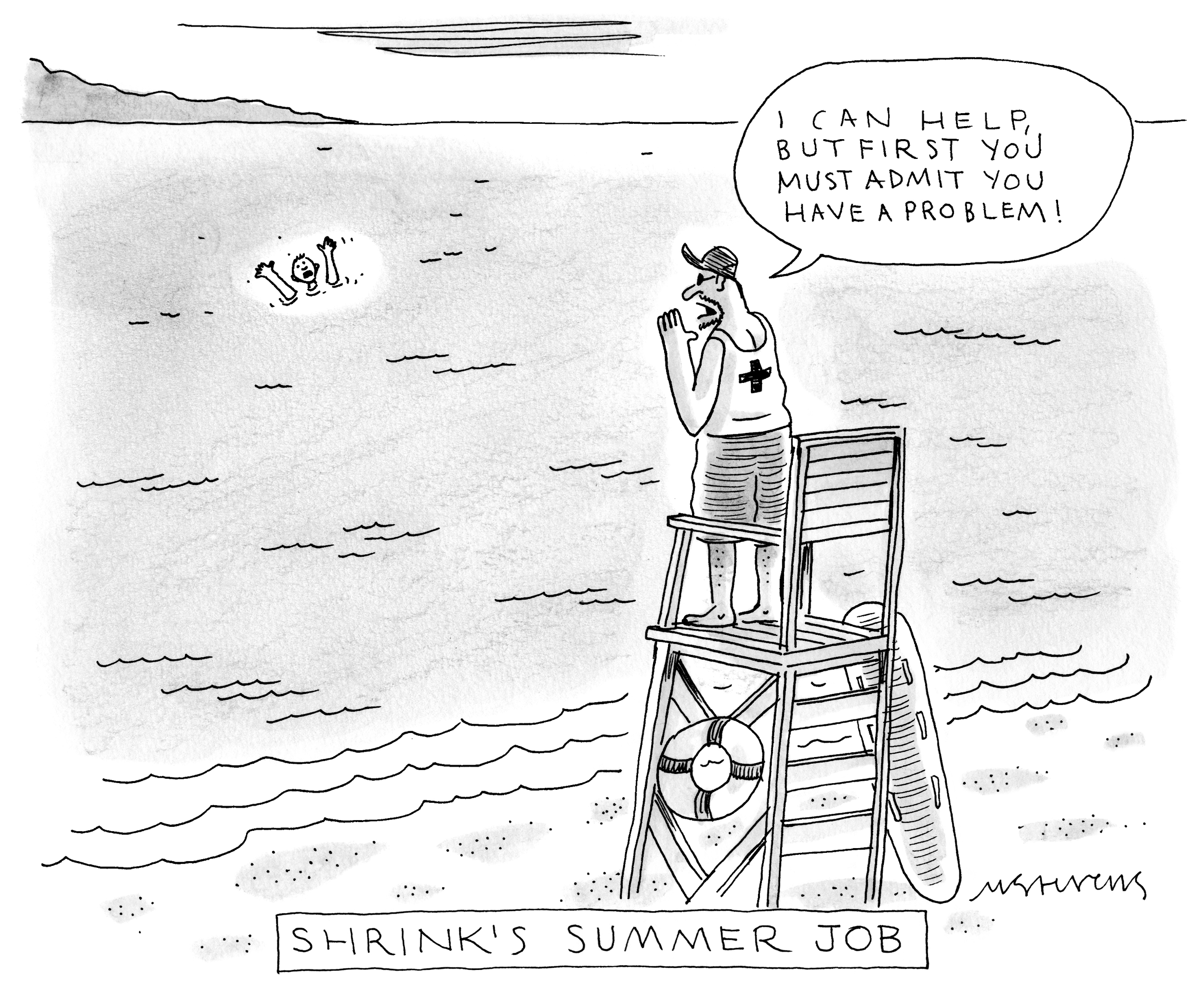 Credit: Mick Stevens / The New Yorker / The Cartoon Bank.With permission