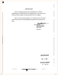 04 - Memo to request investigation, OHCHR to OIOIS - April 9, 2015
