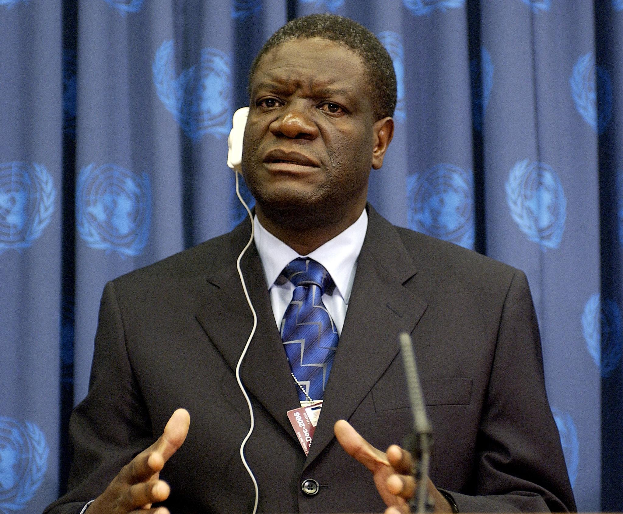 Dr. Denis Mukwege ( UN Photo / Devra Berkowitz )