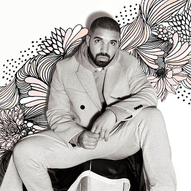 Happy birthday, Drake!  #illustration #drake #birthday #drizzy #music #champagnepapi #rap
