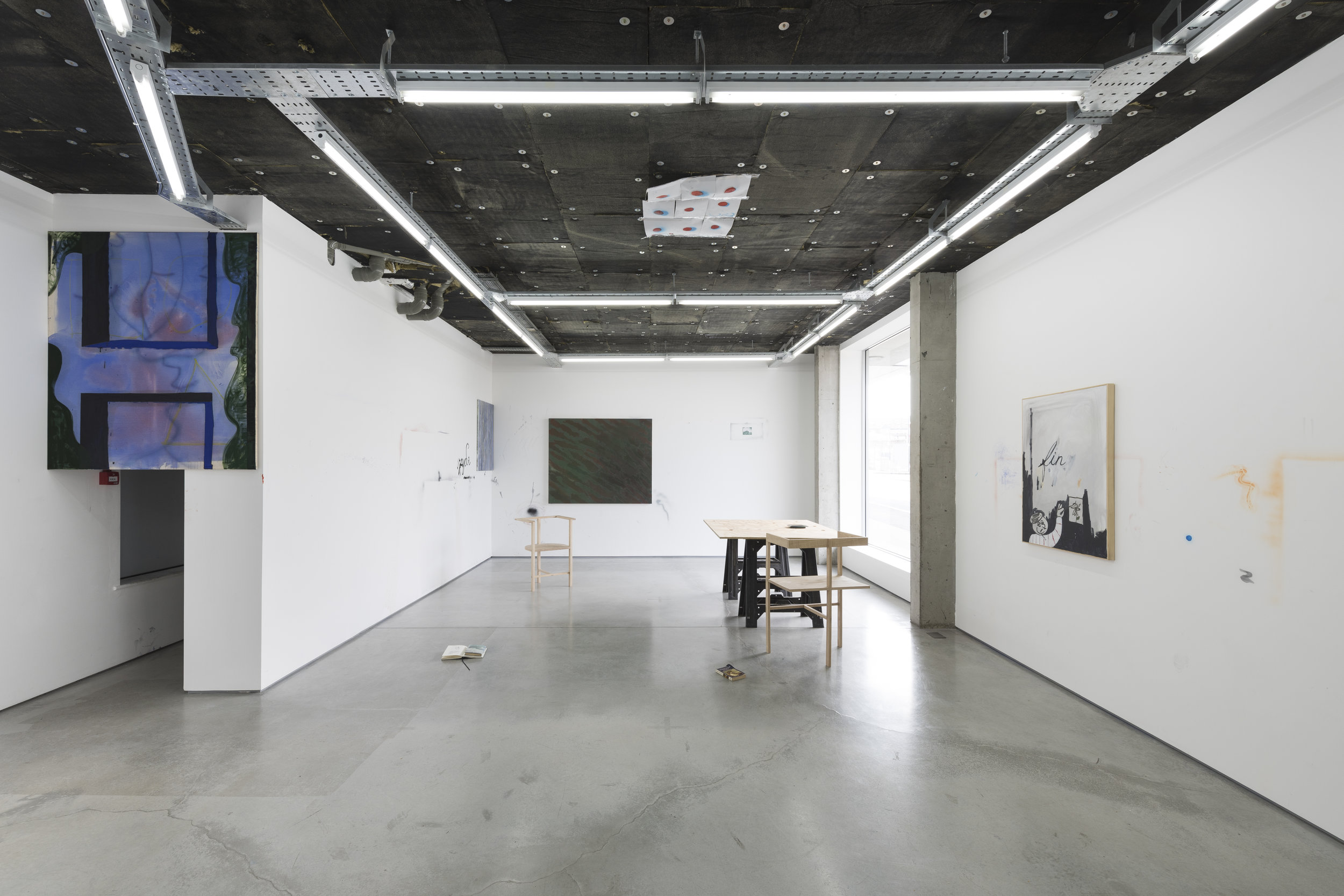The Fool   group exhibition curated by  Westminster Waste  with Amy Bessone, Benjamin Brett, Matt Moser-Clark, Charlotte Develter, Ted Gahl, Tobias Teschner, Sanja Todorović,  Rod Barton , London, UK, 2016