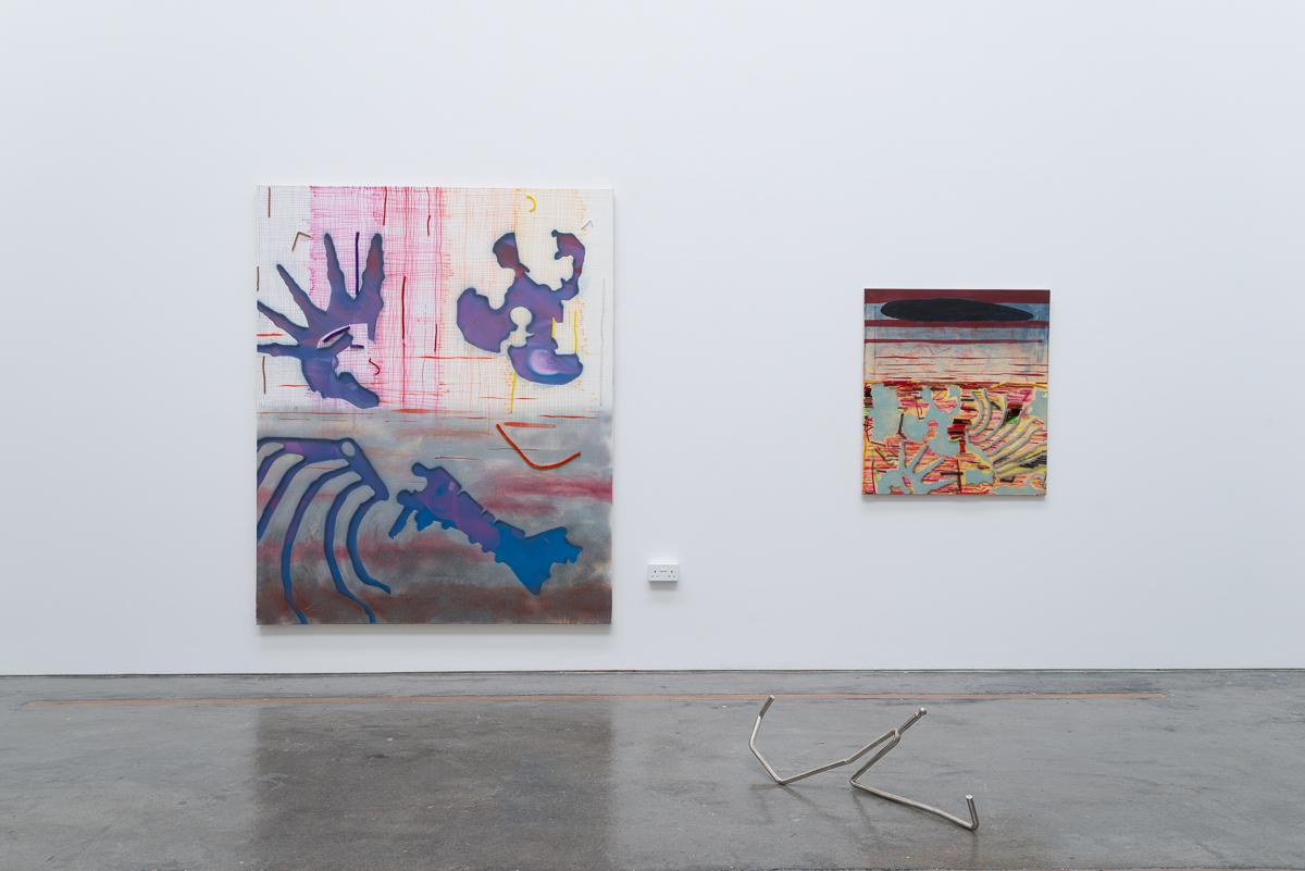 graduation show with Frank Leuwer, Tobias Teschner, Joanna Piotrowska, royal college of art, London, UK, 2012