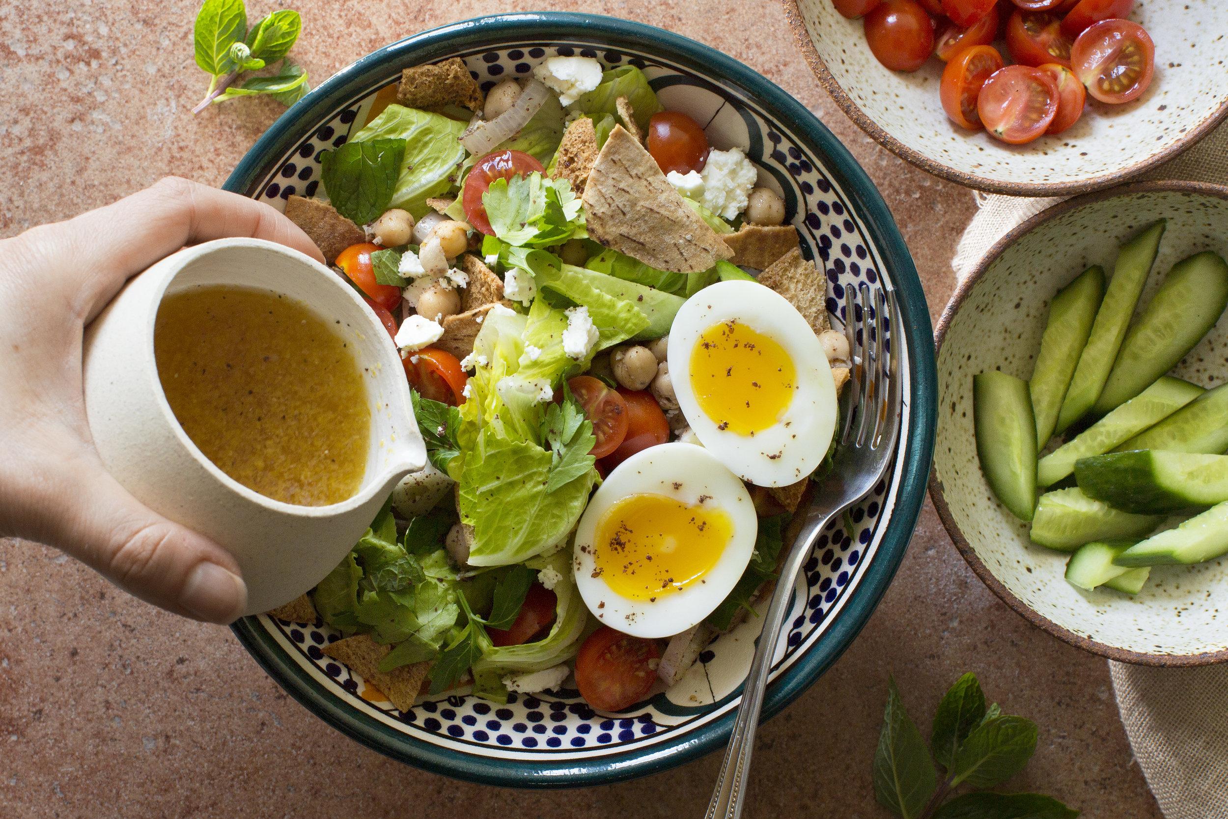 Fattoush Salad Chickpeas Tomatoes Egg_071.jpg