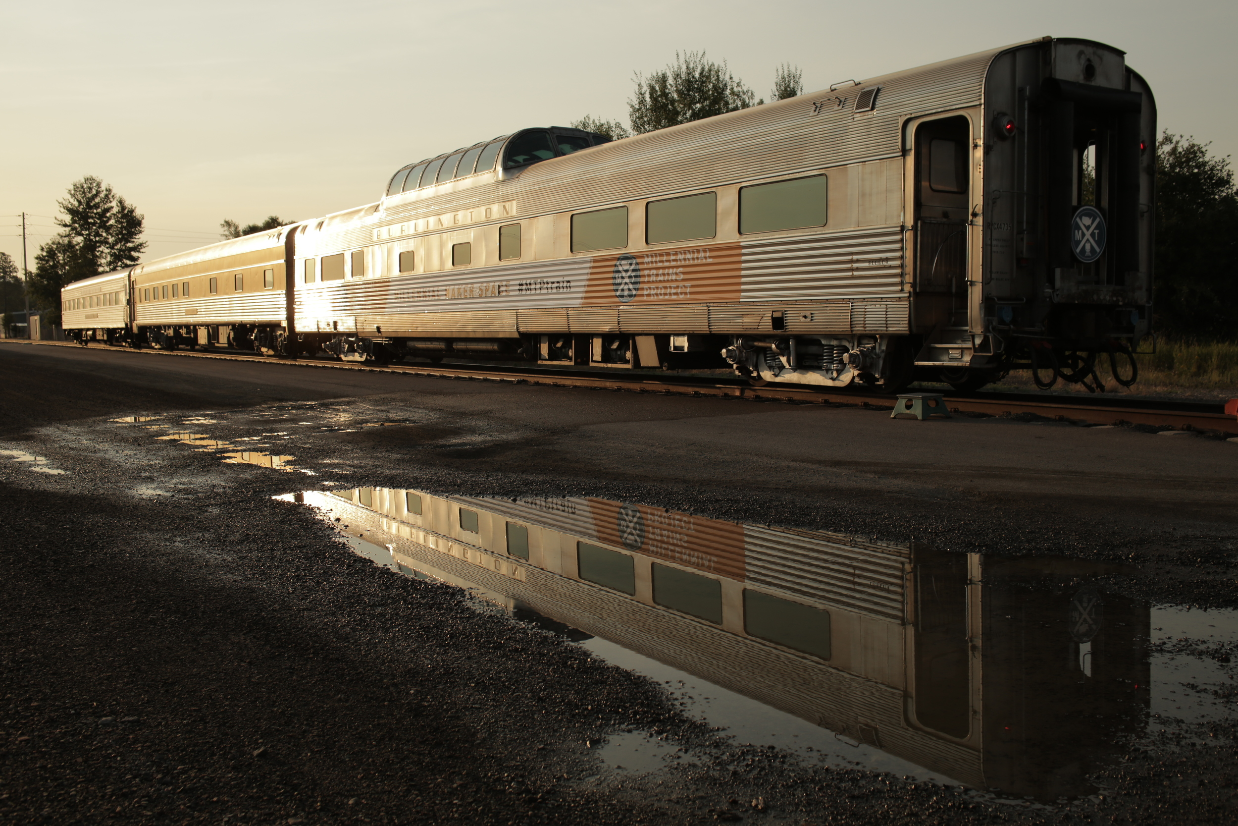 8/9/14  | What is a train? Founder and CEO Patrick Dowd talks about traveling with purpose  here .