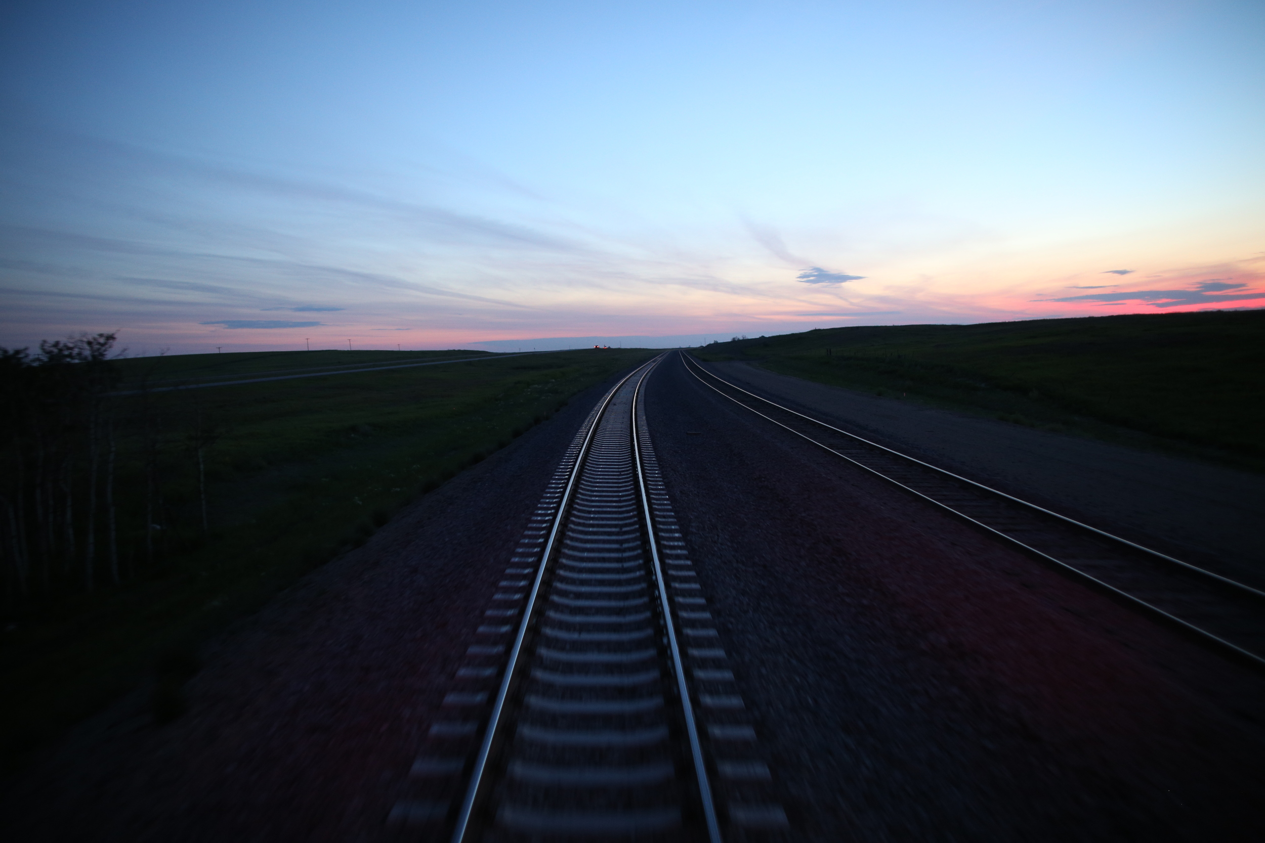8/11/14  | Passing through South Dakota at sunset. (Credit: Tyler Metcalfe, National Geographic Travel)