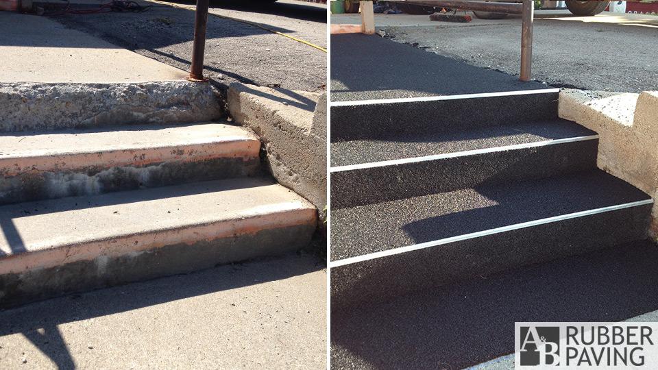 Steps - Black - Before/After