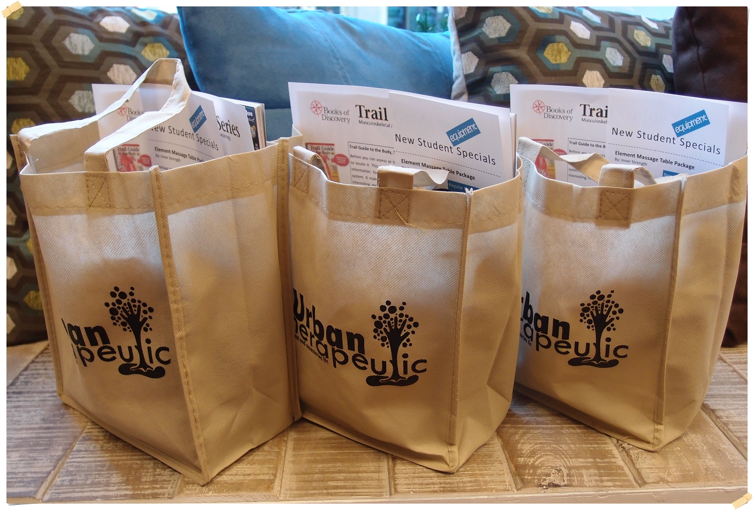 Winter Term Students - we hope you enjoy your New Student Welcome Bags!