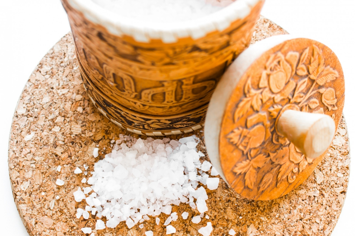 Epsom Salt aka Magnesium Sulfate is a chemical compound made up of magnesium, sulfur and oxygen. Soak it up!