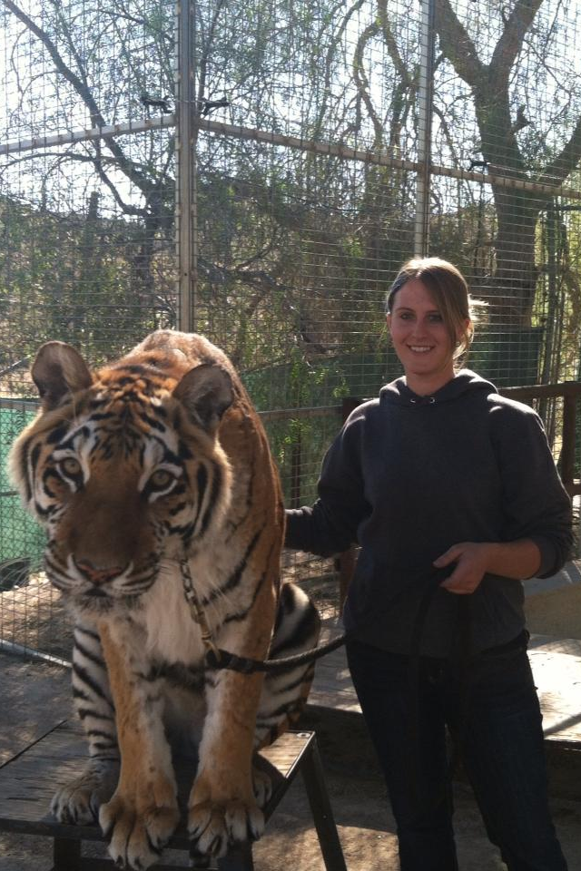 Graduate of Moorpark Exotic Animal Training Program