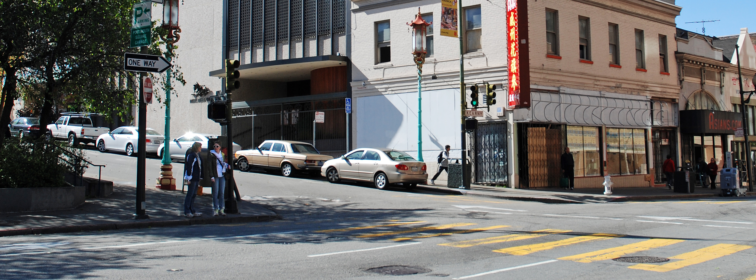 Impact - Chase Through Chinatown - Su Lin to the Rescue