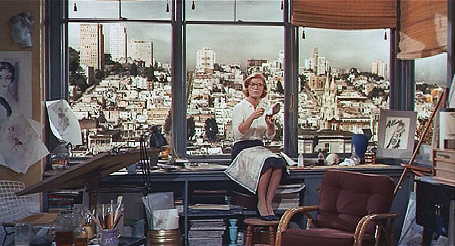 Portrait In Black -  Rivera's Office