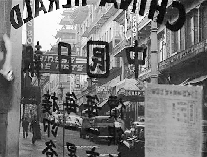 The Lady From Shanghai -  On The Lam - Grant Avenue from California to Clay