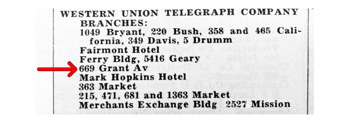 Impact -  Telegraph Office