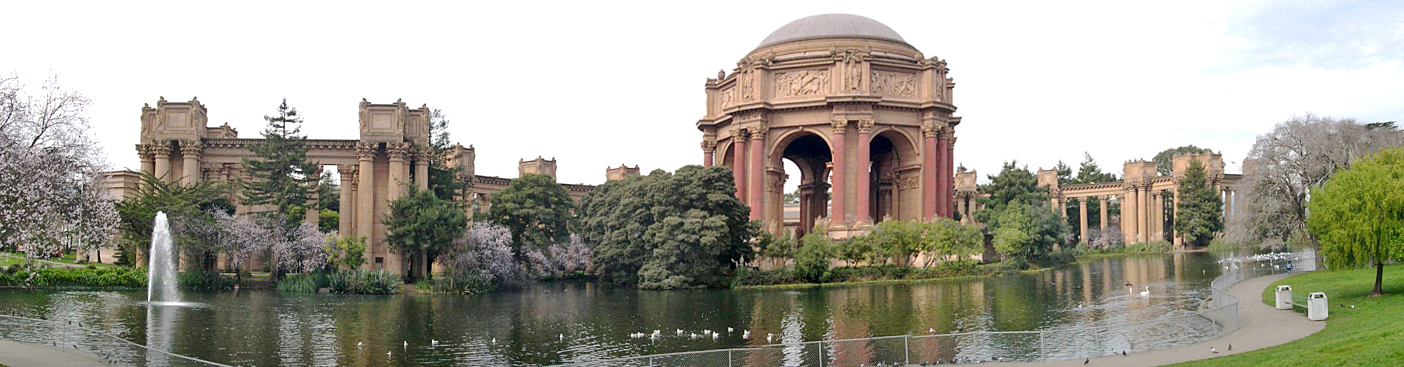 Vertigo -  Palace of Fine Arts