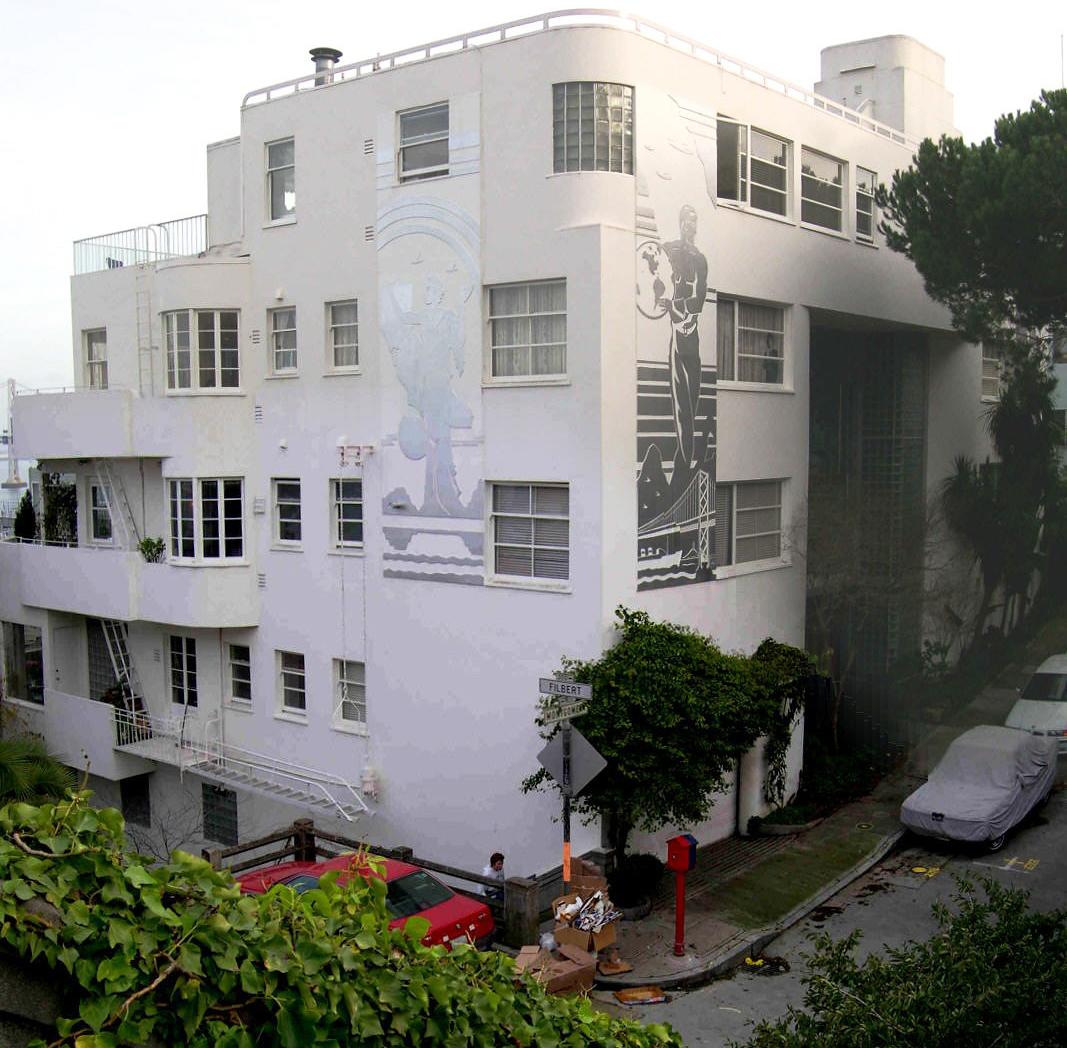 Dark Passage - Irene's Apartment