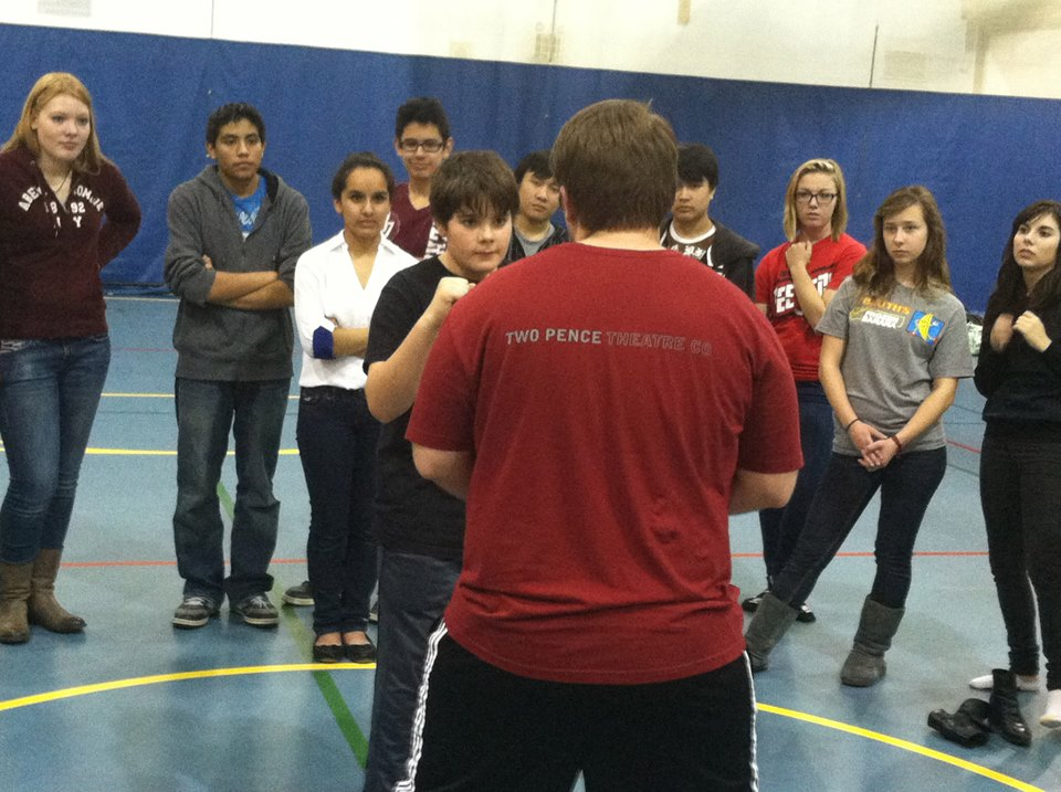 Stage Combat Workshop - Dundee Crown High School